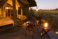 Motswiri is a relatively luxurious semi-permanent mobile safari camp