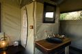 Even some of the more rustic tented safari camps have well thought out en suite bathrooms