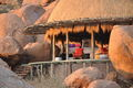 Camp Kipwe in Damaraland is designed to blend into its surroundings.